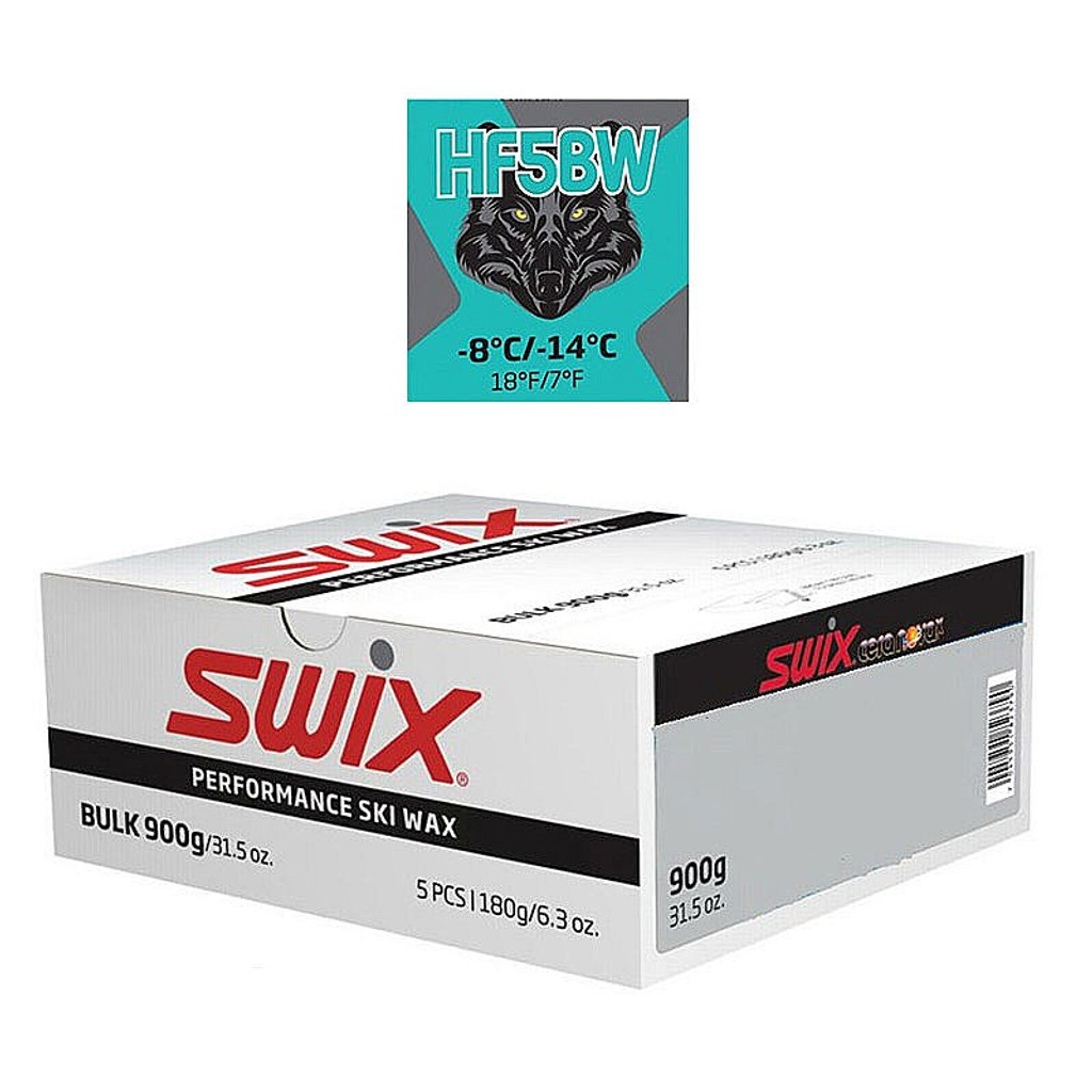 Swix HF5BWX High Fluoro Wax 900g