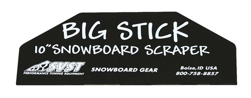SVST Big Stick Snowboard Wax Scraper