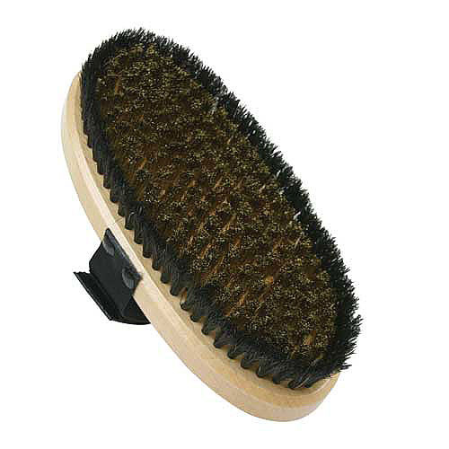 SVST Oval Bonze - Horsehair Combi. Brush