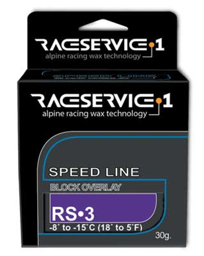 RaceService 1 RS-3 Racing Solid Overlay