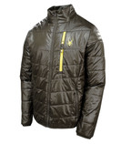 Spyder Men's Mandate Jacket - Osetra / Acid