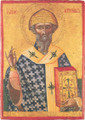 St Spyridon of Corfu (Greek, XVII c.) [S]