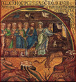 Noah&#039;s Ark (Siciliy Mosaic, 13th C)