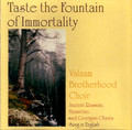 Taste the Fountain of Immortality (CD)