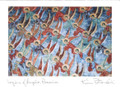 Legions of Angels, Romania. Handmade cards by Kim Piotrowski - Box of 10