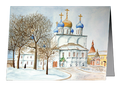 Christmas Cards - Novospassky Monastery