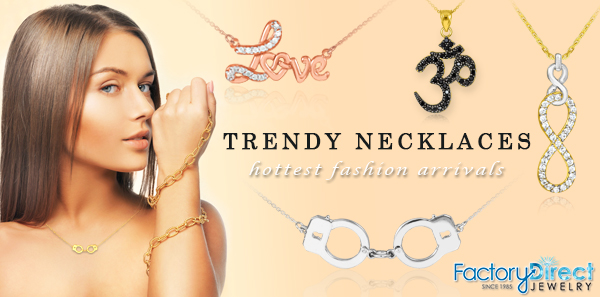 Gold & silver trendy necklaces