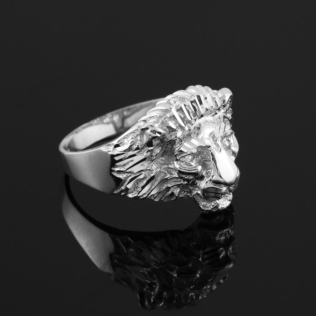 Ebay Old Ring Silver  Lion