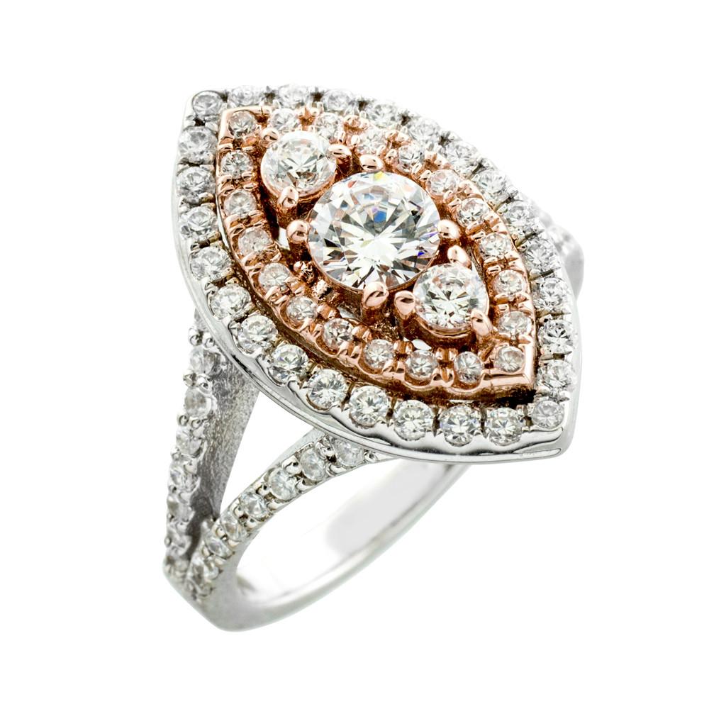 Engagement Ring Diamond Engagement Ring Halo Engagement Ring