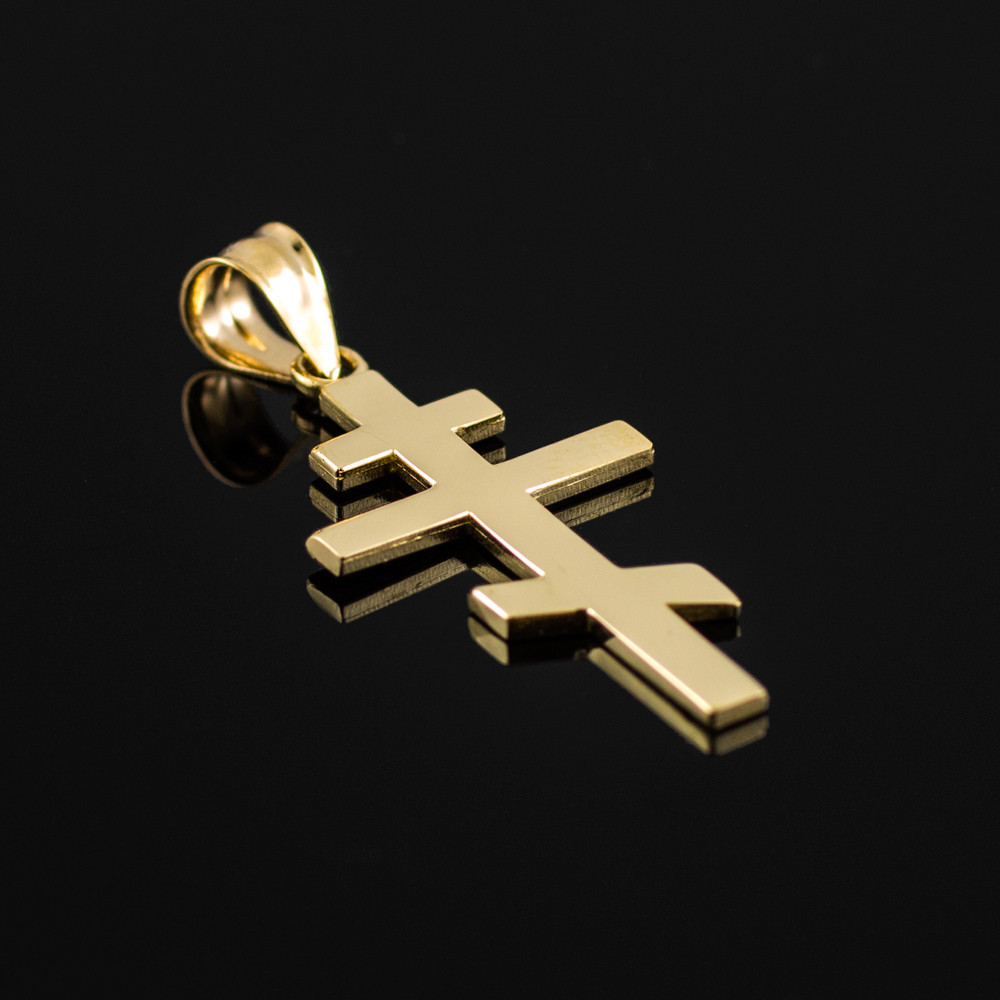 gold plain russian eastern orthodox cross and 36 similar items