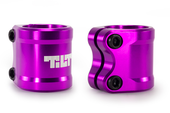 Tilt ARC Double Clamp PURPLE www.krypticproscooters.com