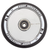 Root Industries AIR Wheel 120mm - BLACK/MIRROR CHROME www.krypticproscooters.com