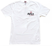 Apex LOGO T Shirt (white) www.krypticproscooters.com