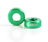 Apex Bar Ends Green www.krypticproscooters.com