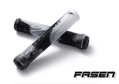 Fasen FAST Mix Grips-BLACK/WHITE www.krypticproscooters.com