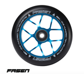 Fasen JET Wheel 110mm-TEAL/BLACK www.krypticproscooters.com