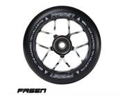 Fasen JET Wheel 110mm-CHROME/BLACK www.krypticproscooters.com