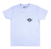 Proto MARTINI SAW SERVICE T-Shirt-(BLACK on GLACIER BLUE)