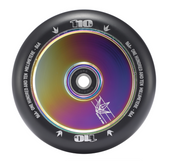 Envy HOLLOW CORE 110mm Wheel-OIL SLICK/BLACK www.krypticproscooters.com