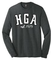 HGA Long Sleeve Distressed Logo