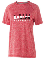 LHS Softball Ladies Electrify Tee