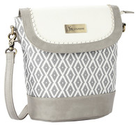 Silver Wishes Cross Body Bag