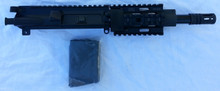 "7"" 7.62x39 AR15 Pistol upper, complete, Free Float Quad Rail"