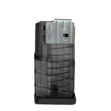 Lancer L7AWM magazine 10/20, 10 round Translucent Smoke, 7.62mmX51 (.308win), California