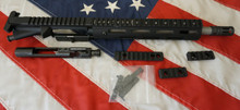 "10.5"" SS 7.62x39 AR15 Pistol upper, complete, 9"" Troy Free Float Alpha Rail"