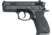 """CZ 75 P-01 3.8"""" Pistol 9mm, compact 10 rd, On CA roster"""