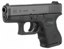 Glock 26 Gen 3, 9mm 10 rnd, On CA Roster