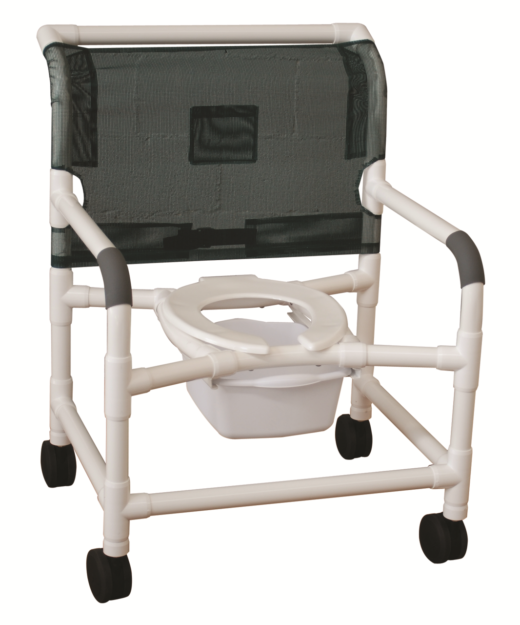 Rolling Shower Chair Super Wide Heavy Duty CareProdx