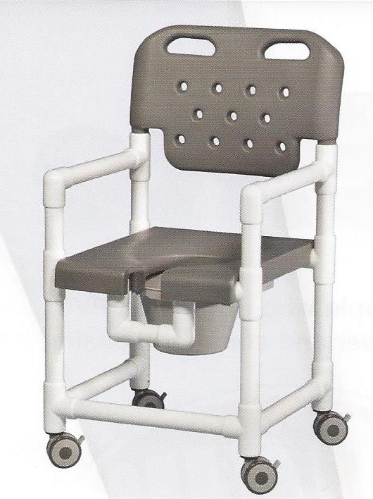 elite series rolling shower commode chair careprodx