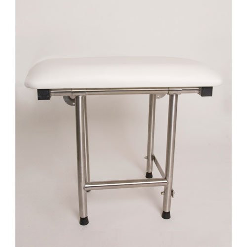 Padded Fold Down Shower Seat With Stainless Steel Frame CareProdx
