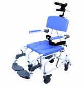 Tilt Extra Wide Shower Commode Chair