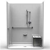 ADA Compliant Shower 5LES6333A75B