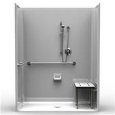 Multi-Piece ADA Shower