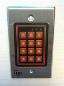 Flush Mount Indoor/Outdoor Keypad Actuator