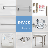 KPACK Shower Accessory Package For Best Bath Shower