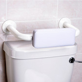 Padded Backrest For Toilets