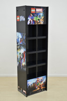Videos Games Display unit 680mm W x 550mm D x 1900mm H