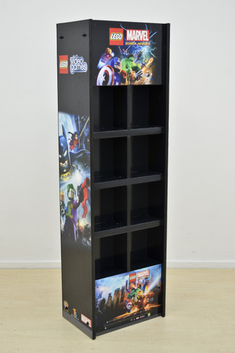 Videos Games Display unit 680mm W x 550mm D x 1900mm H