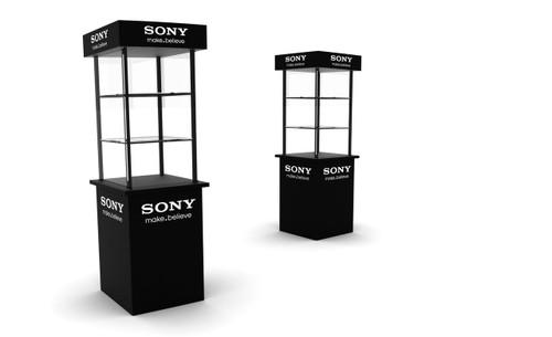 Camera Display Unit 680mm W x 680mm D x 1900mm H