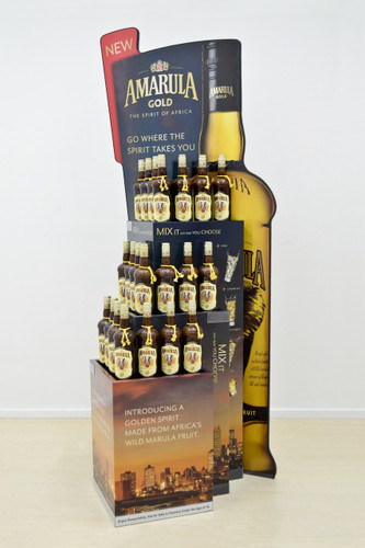 3 Tier Bottle Stand 798mm (w) x 640mm (d) x 1912mm (h)