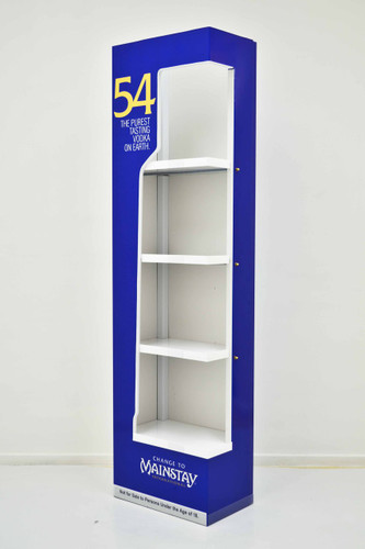 Semi Cantilever shelf FSU 510mm (w) x 277mm (d) x 1950mm (h)