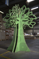 X054 Go Green Tree - Cut file