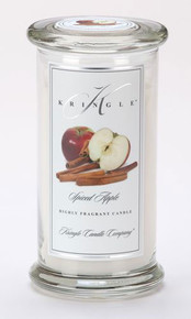 Spiced Apple Kringle Candle- Large Apothecary Jar