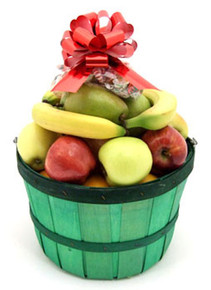 Heaping Peck Fruit Basket