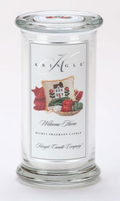 Welcome Home Kringle Candle- Large Apothecary Jar