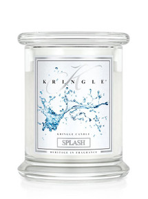 Kringle Candle Splash, Medium 2-Wick Classic Jar 16 oz
